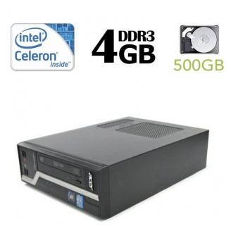 ACER Veriton X2611G, Intel G1610 2.8GHZ, 4GB DDR3, 320GB HDD, DVD - WIN 10 Home