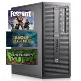 Gaming PC HP ELITEDESK 800 G1, I5 4570 3.2GHZ, 16GB DDR3, 2GB VGA, 250 SSD & 500GB HDD, DVD-R, MINI TOWER - WIN 7 PRO