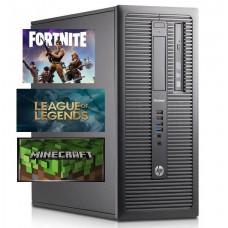 Gaming PC HP ELITEDESK 800 G1, I5 4570 3.2GHZ, 8GB DDR3, 2GB VGA, 500GB HDD, DVD-R, MINI TOWER - WIN 7 PRO