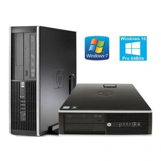 HP 6000 Pro Desktop, Intel Core 2 Duo E8400 3.0GHz, 4GB RAM DDR3, 250GB HDD Win 7 Pro