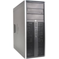 HP COMPAQ 8000 ELITE Mini Tower, Core 2 Duo E8400 3GHz, 4GB RAM DDR3, 250GB HDD, Win 7 Pro