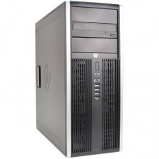 HP COMPAQ 8000 ELITE Mini Tower, Intel Dual Core E6700 3.2GHz, 4GB RAM DDR3, 250GB HDD, FREE DOS