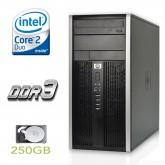 HP 6000 Pro Mini Towe, Intel Dual Core E6700 3.2GHz, 4GB RAM DDR3, 250GB HDD, FEE DOS