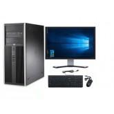 "HP 8000 ELITE + Οθόνη 19"" + Μouse + Keyboard + Ηχεία + Win 10 Home - Πλήρες SET"