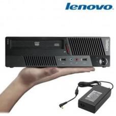 LENOVO M58 USFF, Intel Dual Core E5700 3.0GHz, 4GB RAM DDR2, 250GB, Win 7 Pro