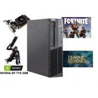 Gaming PC - LENOVO M82 SFF, Intel i5 3550 3.70 GHz, 8GB RAM DDR3, 500GB HDD, 2GB VGA, DVDRW - WIN 7 Pro