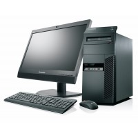 "PC SET -  LENOVO M71e, Intel i3, 4GB DDR3, 250GB HDD, WIN 10 HOME + Οθόνη 19"" + Πληκτ/γιο, Mouse, Ηχεία"