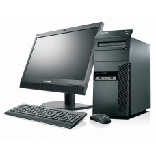 "PC SET -  LENOVO M71e, Intel i3 2120 3.3GHz, 4GB DDR3, 250GB HDD, WIN 10 HOME + Οθόνη 19"" + Πληκτ/γιο, Mouse, Ηχεία"