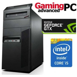Gaming PC LENOVO M91P, Intel i5 2400 3.1GHZ, 16GB DDR3, 240 SSD + 500GB HDD, 2GB VGA, DVDRW, Mini Tower - Win 10 Home