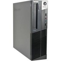 LENOVO ThinkCentre M78 SFF, AMD A4 5300, 4GB RAM DDR3, 250GB HDD, DVDRW - WIN 10 HOME
