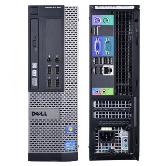 DELL optipLEx 390 DT/SFF, Intel G850 2,9GHZ, 4GB DDR3, 250GB HDD, WIN 7 PRO