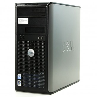 DELL optipLEx 360 MT, Dual Core 2.5GHZ, 3Gb DDR3, 160GB HDD, WIN 10 HOME