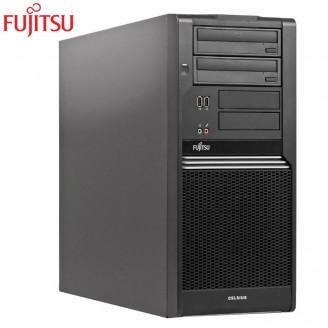 FUJITSU CELSIUS W370 C2D E8400 3.0GHZ 4G DDR3 160HDD DVD TOWER FREE DOS