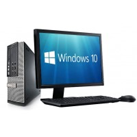 "DELL optipLEx™ 790, Intel i3, + Οθόνη 19"" + Μouse + Keyboard + Ηχεία + Win10 HOME - Πλήρες SET"