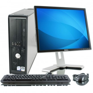 DELL optipLEx 380 + Οθόνη + Windows 10 Home - Πλήρες SET