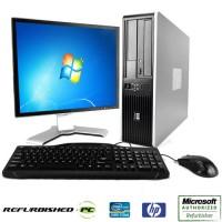 """Μεταχειρισμένο SET PC HP 6305 + Οθόνη 19"""" + Μouse + Keyboard + Ηχεία"""