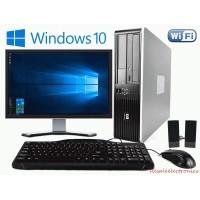 "SET PC HP 6305 + Οθόνη 19"" + Μouse + Keyboard + Ηχεία + Windows 10 Home - Πλήρες SET"