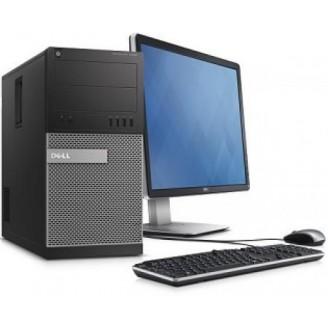 """Gaming PC SET -  DELL optipLEx™ 790 Mini Tower, Intel i5, 16GB RAM, 240 GB HDD SSD + 500 GB HDD, VGA 2 GB - WIN 10 HOME + Οθόνη 19"""" + Πληκτ/γιο, Mouse, Ηχεία"""