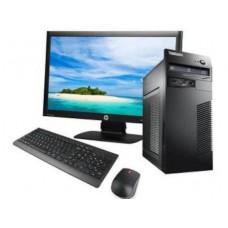 "Lenovo  M70  + Οθόνη 19"" + Μouse + Keyboard + Ηχεία - Win 7  Pro - Πλήρες SET"